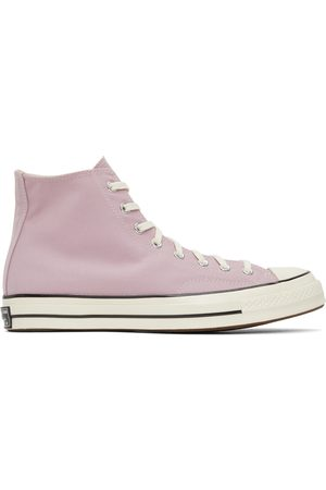 Converse Men Sneakers - Purple Chuck 70 Hi Sneakers