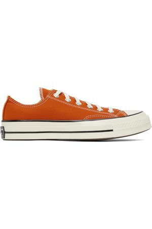 Converse Men Sneakers - Orange Chuck 70 OX Sneakers