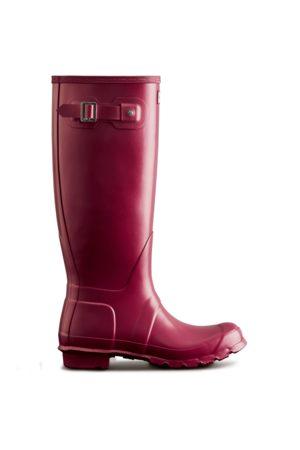 Hunter Women Thigh High Boots - Women's Original Nebula Tall Rain Boots