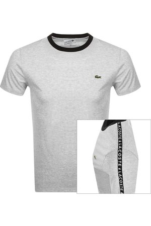 Lacoste Crew Neck T Shirt Grey