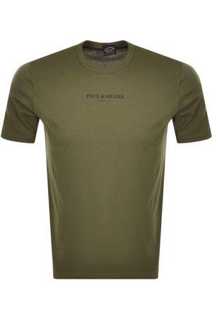 Paul & Shark Paul And Shark Short Sleeved Logo T Shirt White