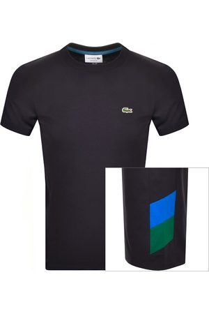 Lacoste Crew Neck T Shirt Navy