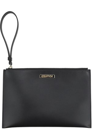 Dsquared2 Women Clutches - Logo Zipped Clutch Bag