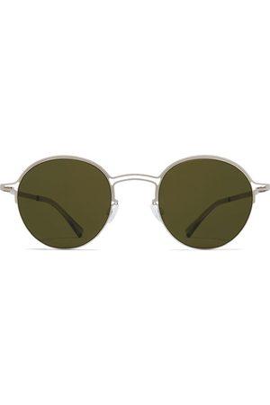 MYKITA Round Matte And Raw Sunglasses