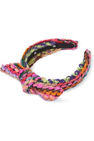 Lele Sadoughi Girls' Colorful Knit Bow Headband