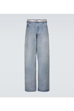 Balenciaga Baggy jeans with logo
