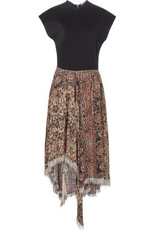 J.W.Anderson Embellished asymmetric midi dress