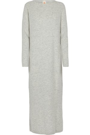 Jardin des Orangers Wool and cashmere sweater midi dress