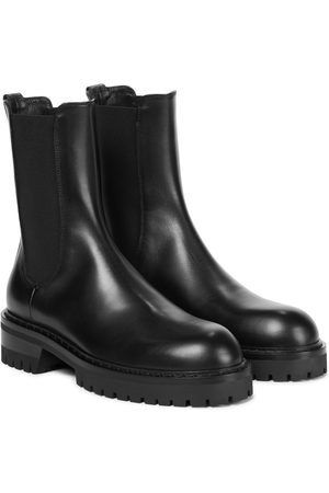 ANN DEMEULEMEESTER Wally leather Chelsea boots