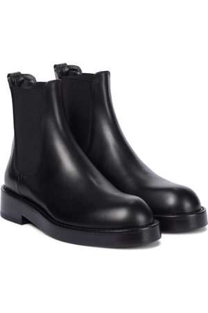 ANN DEMEULEMEESTER Stef leather Chelsea boots