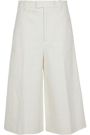 Bottega Veneta Stretch-linen culottes