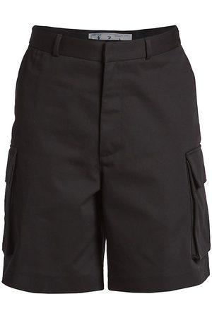 OFF-WHITE Cotton Cargo Shorts