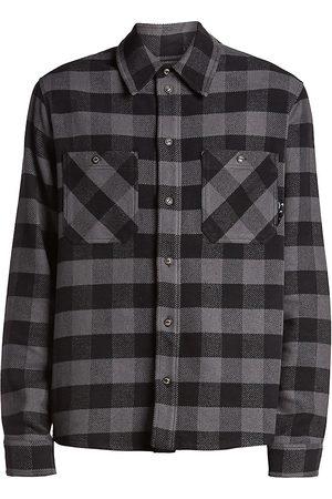 OFF-WHITE Arrow Flannel Shirt
