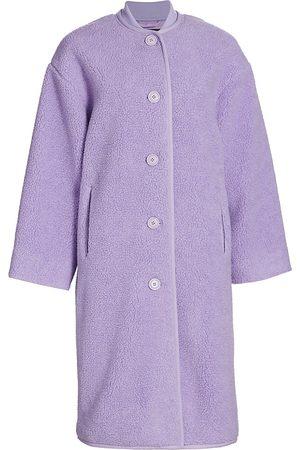 STINE GOYA Oversized Fleece Coat