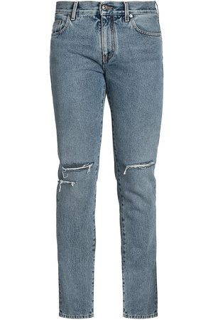 OFF-WHITE Distressed Skinny Jeans