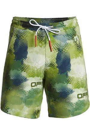 OFF-WHITE Active Knit Drawstring Shorts