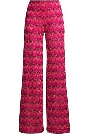 M Missoni Pattern Wide Leg Trousers