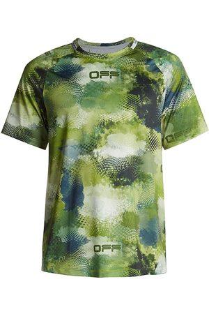 OFF-WHITE Active Short-Sleeve Mesh T-Shirt