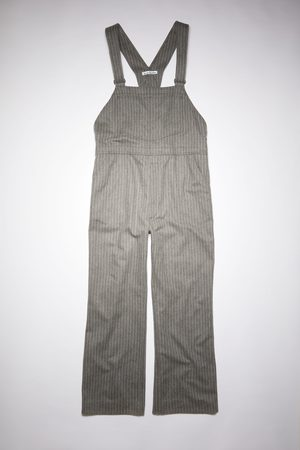 Acne Studios Men Dungarees - FN-MN-TROU000563 /beige Flannel overalls