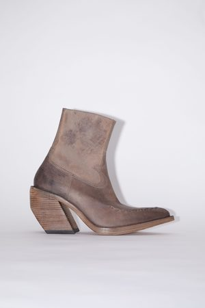 Acne Studios FN-MN-SHOE000145 Leather ankle boots