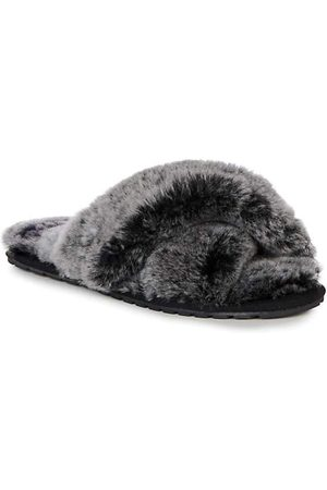 Emu Emu Slippers Mayberry in Charcoal Frost