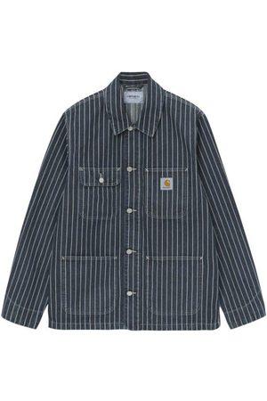 Carhartt Men Outdoor Jackets - Trade Michigan Coat Dark Navy / Wax Rinsed