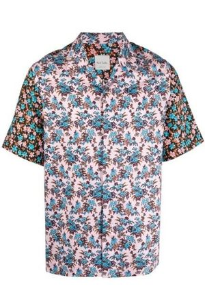 Paul Smith Men Short sleeves - Rizo Floral' Print Short-Sleeve Shirt