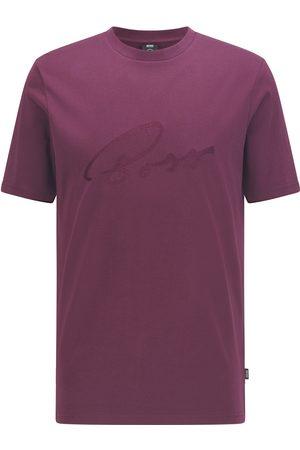 HUGO BOSS TIBURT 256 Logo-Artwork Regular-Fit T-shirt 50458117 510
