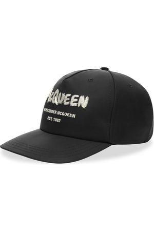 Alexander McQueen Graffitti Logo Baseball Cap
