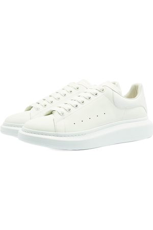 Alexander McQueen Men Platform Sneakers - Glow In The Dark Upper Wedge Sole Sneaker