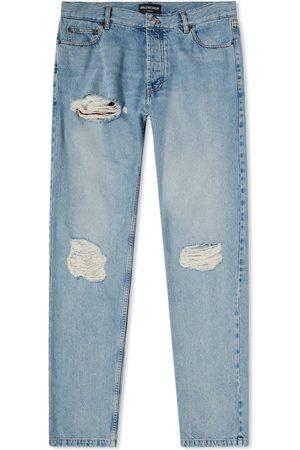 Balenciaga Men Jeans - Normal Distressed Jean