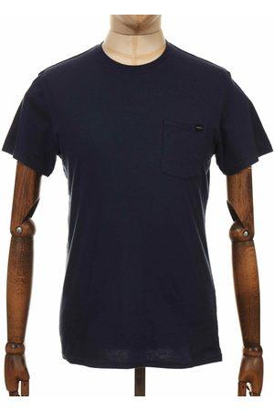 Edwin Jeans Pocket Tee - Navy Medium, Colour: Navy