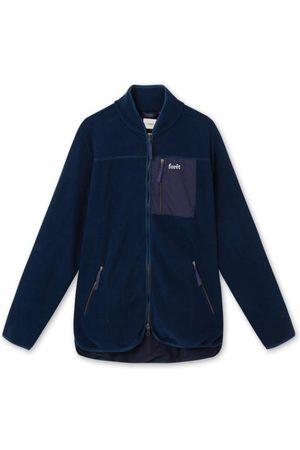 Foret Silence Fleece Jacket Navy