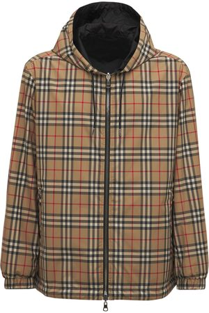 Burberry Men Jackets - Stretton Reversible Check Zip Jacket