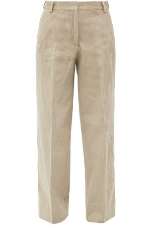 OFFICINE GENERALE Sally Garment-dyed Cotton-corduroy Trousers - Womens