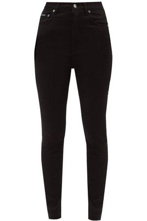 Dolce & Gabbana Women High Waisted - High-rise Slim-leg Jeans - Womens