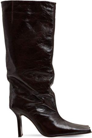 Miista 100mm Corinne Leather Boots