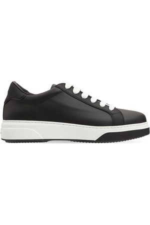 Dsquared2 Bumper Leather Sneakers