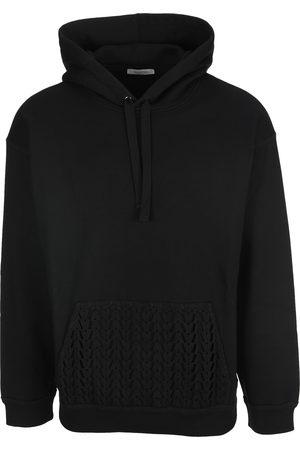 VALENTINO Logo-jacquard hoodie