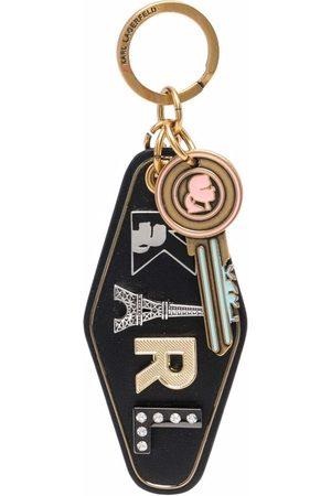 Karl Lagerfeld K/Ikonik Eve hotel keychain
