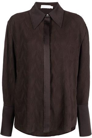 JONATHAN SIMKHAI Belleza long-sleeve shirt