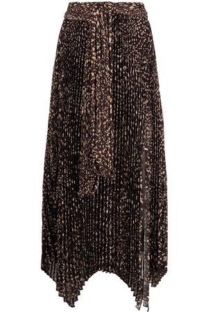 JONATHAN SIMKHAI Women Printed Skirts - Anne dot print skirt