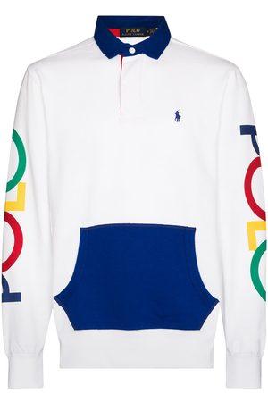Polo Ralph Lauren Men Polo Shirts - Logo-print long-sleeve polo shirt
