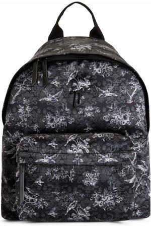 Giuseppe Zanotti Bud floral-print backpack