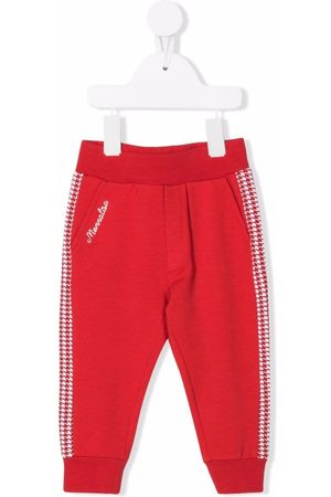 MONNALISA Sweatpants - Logo-embroidered track pants