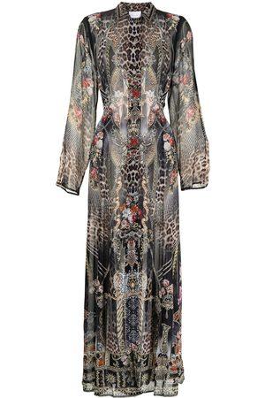 Camilla Gothic Goddess trench coat