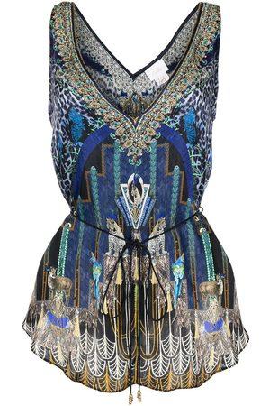Camilla Women Camisoles - Dripping in Deco cami top - Multicolour