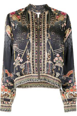 Camilla Gothic Goddess bomber jacket - Multicolour