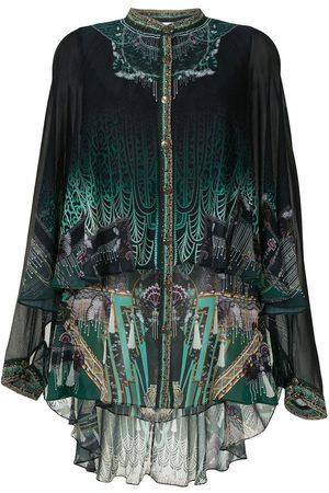 Camilla Fitzgeralds Flapper draped shirt