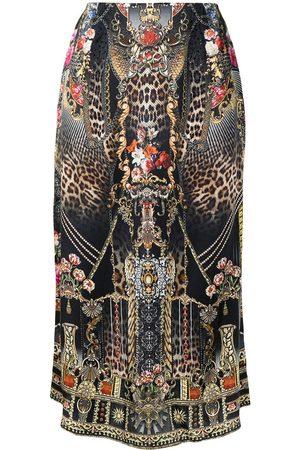 Camilla Women Midi Skirts - Gothic Goddess midi skirt